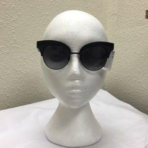 Dolce & Gabbana Black Sequined Cat Eye Sunglasses